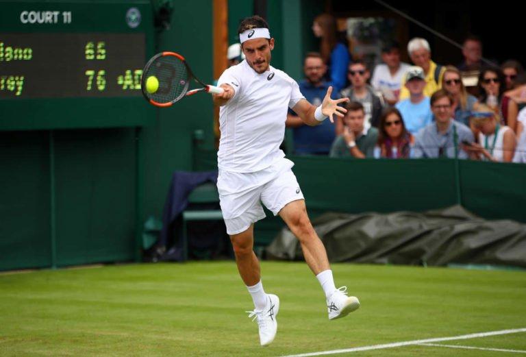 Wimbledon: Fabbiano divelle Tsitsipas