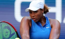 Ubriacata dal serve and volley, Simona Halep cede a Taylor Townsend