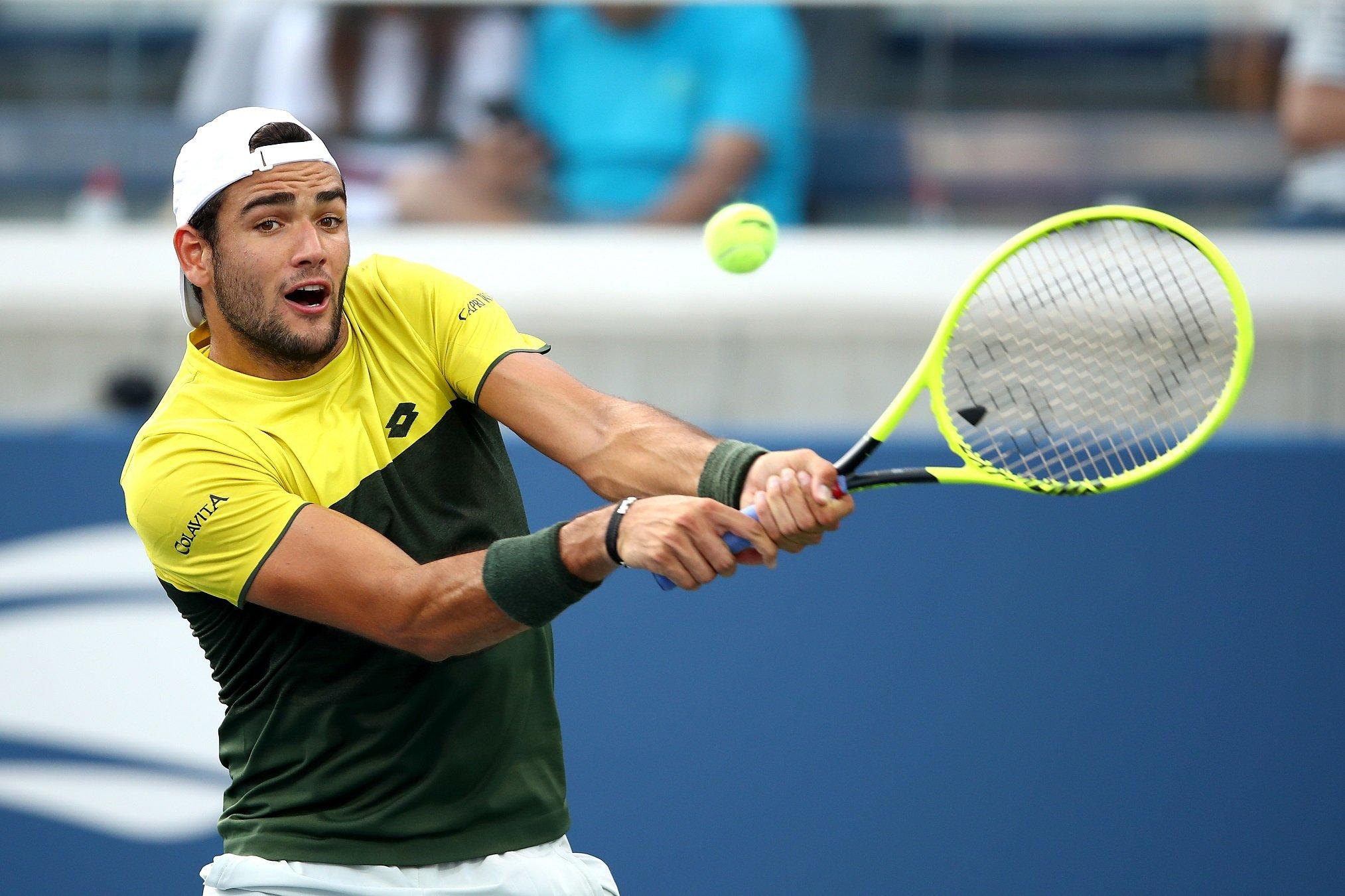 Us Open: Matteo Berrettini batte Rublev e raggiunge i quarti di finale