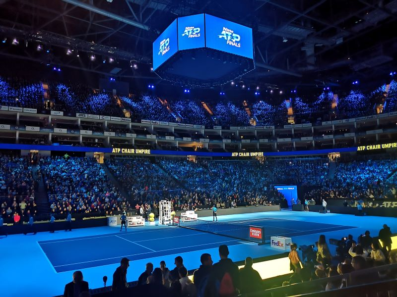 Asfalto indoors: Berrettini dissanguato da Djokovic alle Atp Finals
