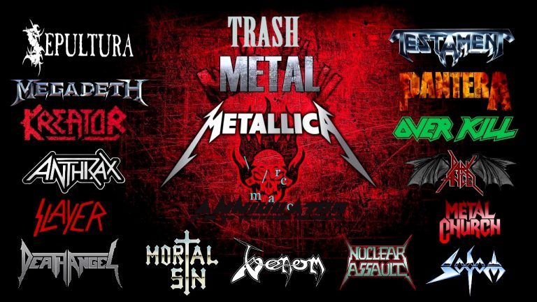 I 10 migliori album thrash metal di sempre